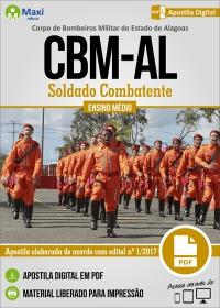 Soldado Combatente - Corpo de Bombeiros - AL