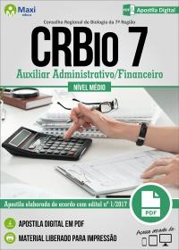 Auxiliar Administrativo/Financeiro - CRBio 7ª Região