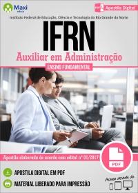 Auxiliar em Administração - IFRN