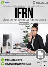 Auxiliar em Assuntos Educacionais - IFRN