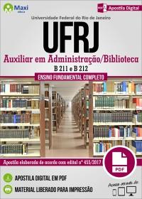 Auxiliar em Administração/Biblioteca - UFRJ