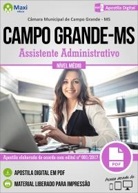 Assistente Administrativo - Câmara de Campo Grande - MS