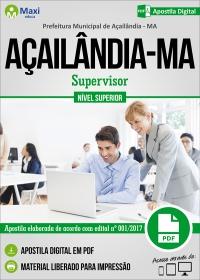 Supervisor - Prefeitura de Açailândia - MA