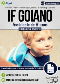 Assistente de Alunos - IF Goiano