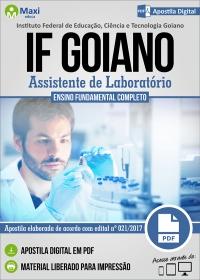 Assistente de Laboratório - IF Goiano