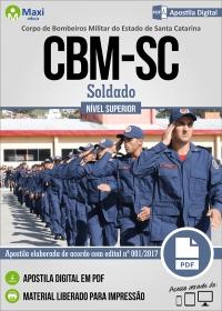 Soldado - Corpo de Bombeiros Militar - SC