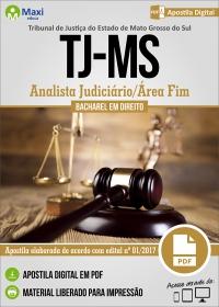Analista Judiciário/Área Fim - Direito - Tribunal de Justiça - MS