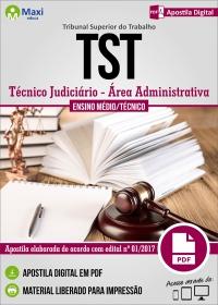 Técnico Judiciário - Área Administrativa - Tribunal Superior do Trabalho