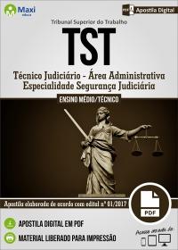 Técnico Judiciário - Segurança Judiciária - Tribunal Superior do Trabalho