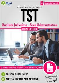 Analista Judiciário - Área Administrativa - Tribunal Superior do Trabalho