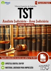 Analista Judiciário - Área Judiciária - Tribunal Superior do Trabalho
