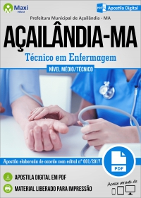 Técnico em Enfermagem - Prefeitura de Açailândia - MA