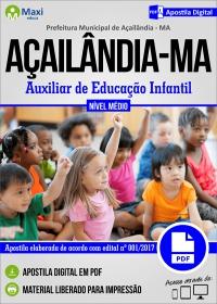 Auxiliar de Educação Infantil - Prefeitura de Açailândia - MA