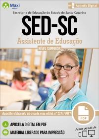 Assistente de Educação - SED - SC