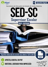Supervisor Escolar - SED - SC