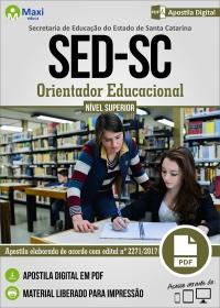 Orientador Educacional - SED - SC