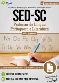 Professor de Língua Portuguesa e Literatura - SED - SC