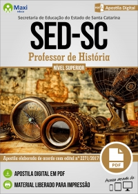 Professor de História - SED - SC