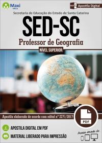 Professor de Geografia - SED - SC