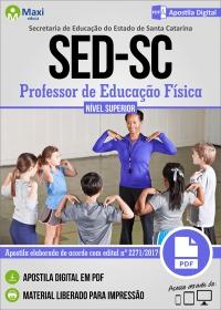 Professor de Educação Física - SED - SC