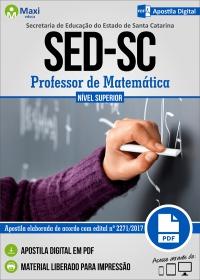 Professor de Matemática - SED - SC