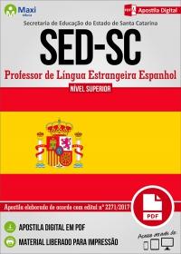 Professor de Língua Estrangeira Espanhol - SED - SC