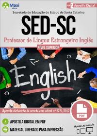 Professor de Língua Estrangeira Inglês - SED - SC