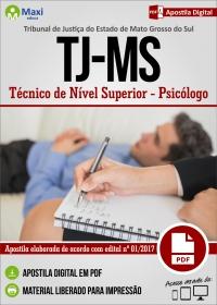Psicólogo - Tribunal de Justiça - MS