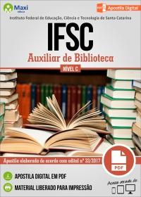 Auxiliar de Biblioteca - IFSC