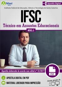 Técnico em Assuntos Educacionais - IFSC