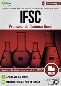 Professor de Química Geral - IFSC