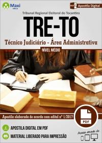 Técnico Judiciário - Área Administrativa - TRE - TO