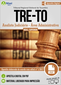 Analista Judiciário - Área Administrativa - TRE - TO