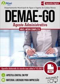 Agente Administrativo - DEMAE - GO
