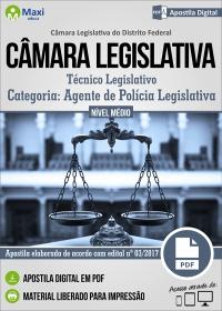 Agente de Polícia Legislativa - Câmara Legislativa - DF