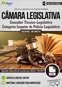 Inspetor de Polícia Legislativa - Câmara Legislativa - DF