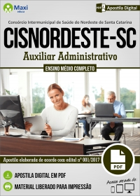Auxiliar Administrativo - CISNORDESTE - SC