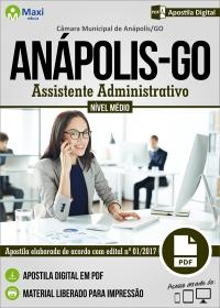 Assistente Administrativo - Câmara de Anápolis - GO