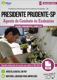Agente de Combate às Endemias - Prefeitura de Presidente Prudente - SP