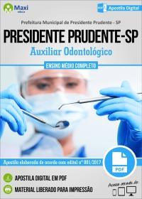 Auxiliar Odontológico - Prefeitura de Presidente Prudente - SP