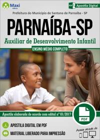 Auxiliar de Desenvolvimento Infantil - Prefeitura de Santana de Parnaíba - SP