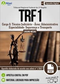 Técnico Judiciário - Segurança e Transporte - TRF 1ª Região