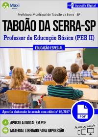 Professor - PEB II - Educação Especial - Prefeitura de Taboão da Serra - SP