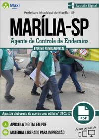 Agente de Controle de Endemias - Prefeitura de Marília - SP