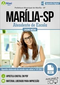 Atendente de Escola - Prefeitura de Marília - SP