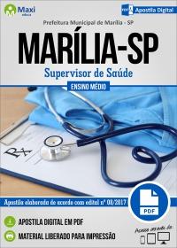 Supervisor de Saúde - Prefeitura de Marília - SP