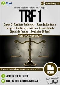 Analista Judiciário - Área Judiciária - TRF 1ª Região