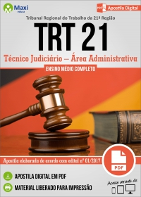 Técnico Judiciário - Área Administrativa - TRT 21ª Região