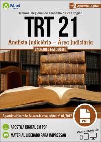 Analista Judiciário - Área Judiciária - TRT 21ª Região