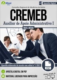 Auxiliar de Apoio Administrativo I - CREMEB